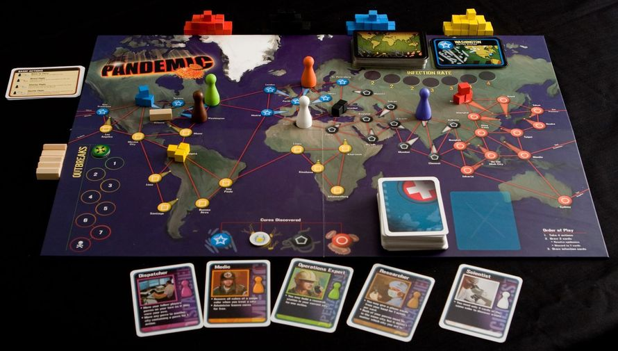 Pandemic (PHOTO: basilmichael (BGG))