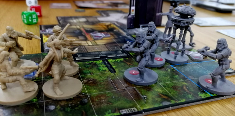 Star Wars imperial assault društvena igra