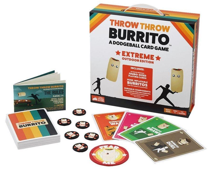 Throw Burrito: Extreme Outdoor Edition