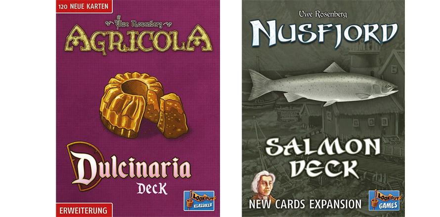 Agricola: Dulcinaria Deck i Nusfjord: Salmon Deck