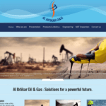Al Ibtikar O&G Website