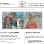 Izdehar Organization Website