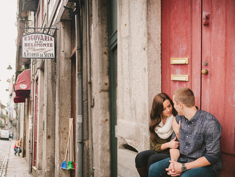 Engagement Photography in Porto Portugal