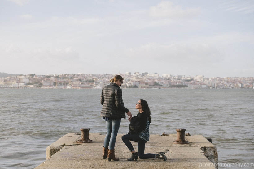 Marriage Proposal in Lisbon Portugal