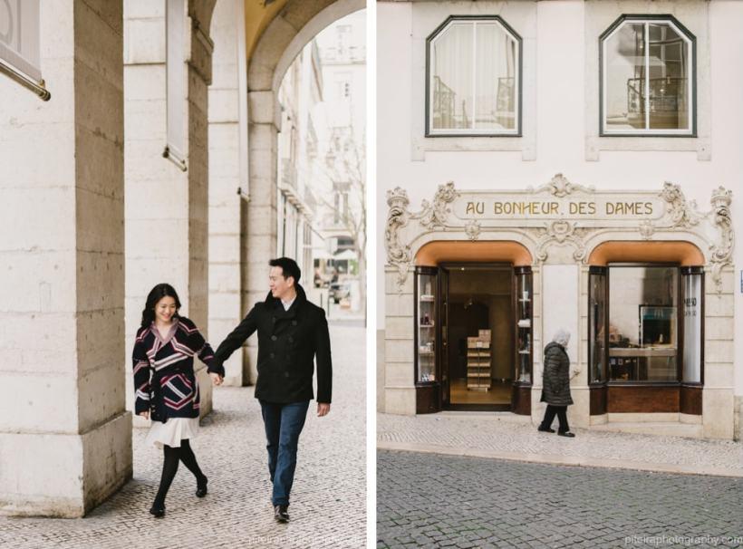 couple photo shoot Lisbon