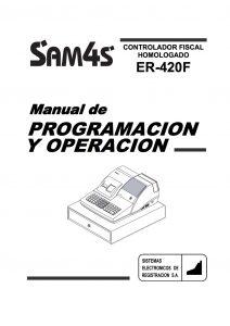 SAM4S ER-420F