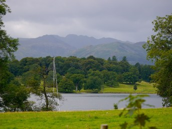 Lake District-Cumbria, mountains, nature