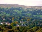Chevin, Yorkshire, landscape, Autumn, Nature