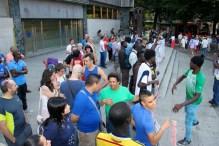 En Bilbao contra los CIES (centros internamiento de extrajenros)