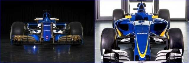 Comparativa Sauber C35 y C36 - Sauber C36