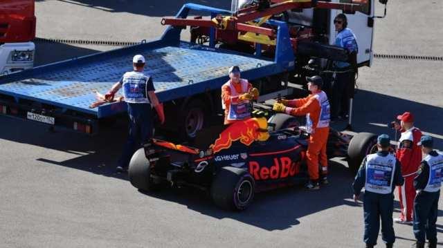 Max Verstappen - Red Bull Racing - Gran Premio de Rusia 2017 - Libres