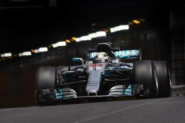 Lewis Hamilton - Mercedes - Mónaco - Jueves