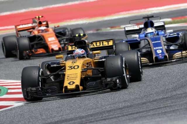 Jolyon Palmer - Renault - España - Domingo
