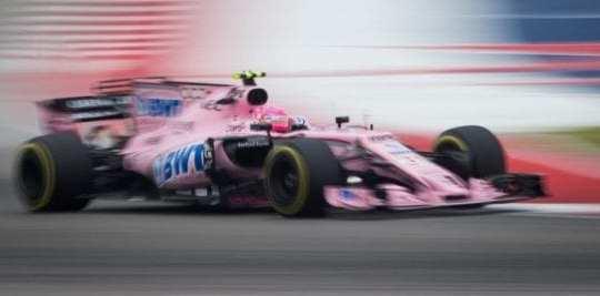 Esteban Ocon - Force India - EEUU - Sábado
