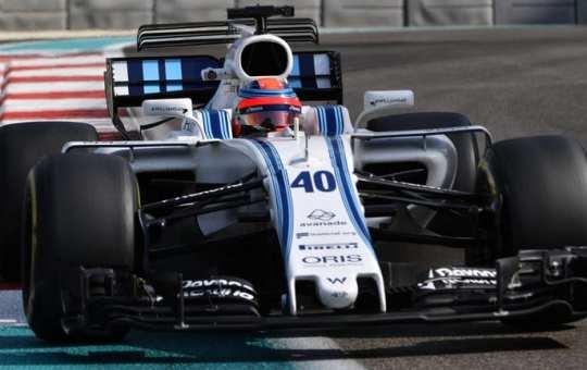 Kubica pilotando el Williams