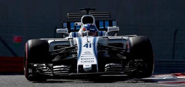 Sergey Sirotkin - Test Abu Dhabi