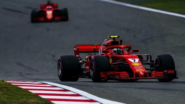 Kimi Räikkönen durante  los entrenamientos libres del GP de China. | Foto: Ferrari