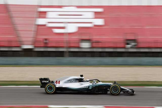 lewis hamilton - mercedes - gp de china 2018