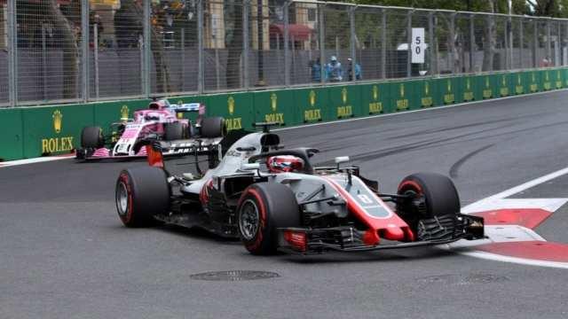 Azerbaijan Grand Prix, Baku 26 - 29 April 2018