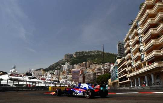 Brendon Hartley - Toro Rosso - Mónaco - Sábado