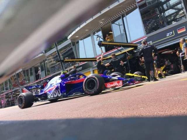 Pierre Gasly - Toro Rosso - Mónaco - Sábado