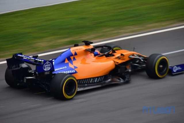 Carlos Sainz - McLaren - Test F1 2019