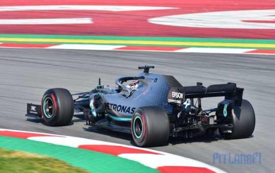 Lewis Hamilton - Mercedes - Test F1 2019