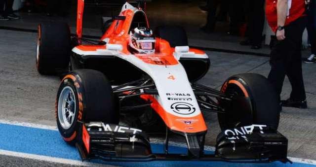 Max Chilton - Marussia - Test Invernales 2014