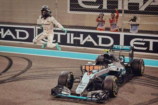 Nico Rosberg - Mercedes - Abu Dhabi - 2016