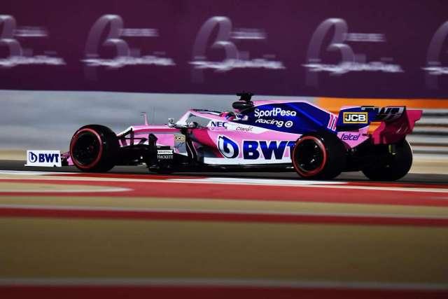 Sergio Pérez - Racing Point - Bahréin - Viernes