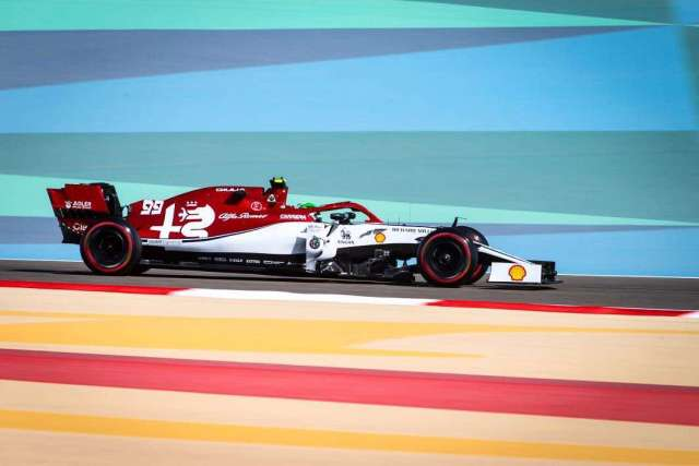 antonio giovinazzi - alfa romeo racing - gp de bahrein 2019 libres