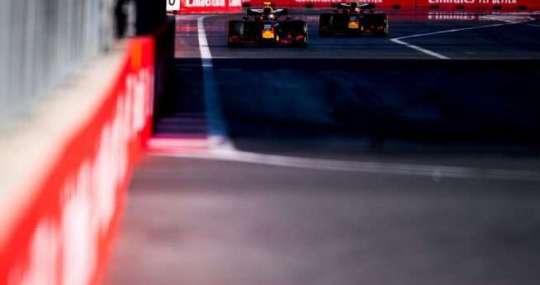 Red Bull Racing - Azerbayán - Carrera