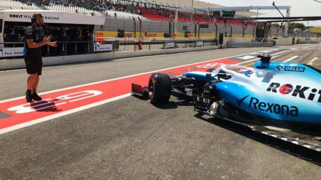 george russell - williams - f1 - gp de francia 2019 -libres