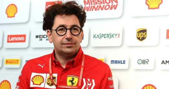 mattia binotto - jefe de equipo de ferrari - previo gp de canadá 2019 f1