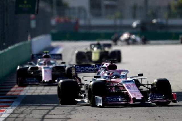 Racing Point - Rusia - Carrera
