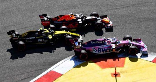 Sergio Pérez - Racing Point - Rusia - Carrera