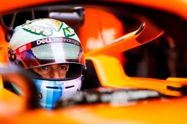 Los dos pilotos de McLaren contentos con la primera puesta a punto del MCL35M