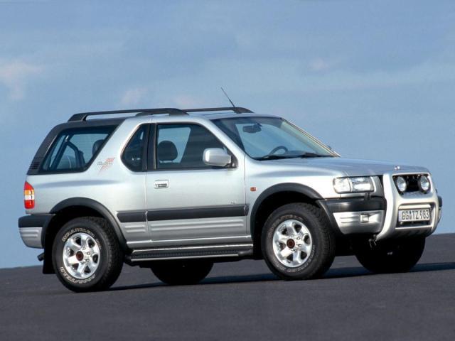 La segunda generación del Opel Frontera llegó en 1996