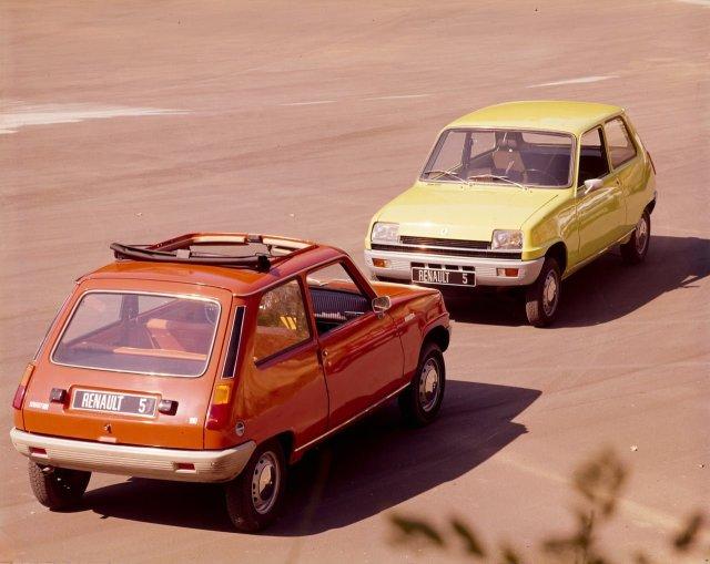 1973 fue un año importante para el  Renault 5