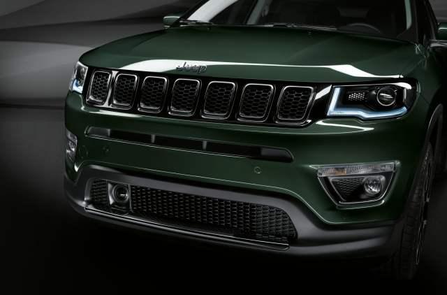 El frontal del nuevo Jeep Compass destaca a simple vista