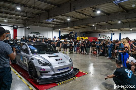 Pit+Paddock Collaborates With Evasive Motorsports For Invite-Only Event