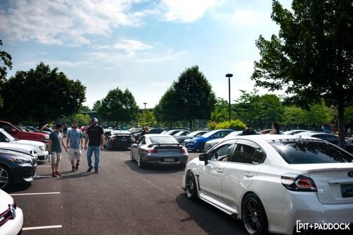 Big Turbochargers and RHD JDM Gems Highlight July's Cars+Coffee