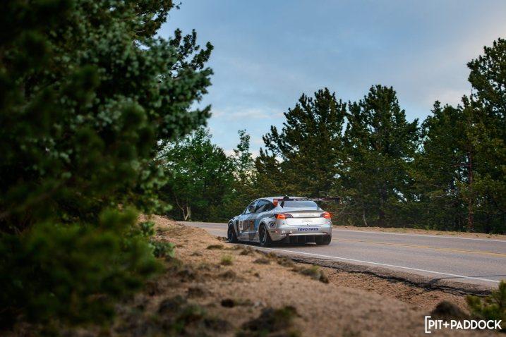 Tesla Model 3 Races The Distance At Pikes Peak International Hill Climb 2021
