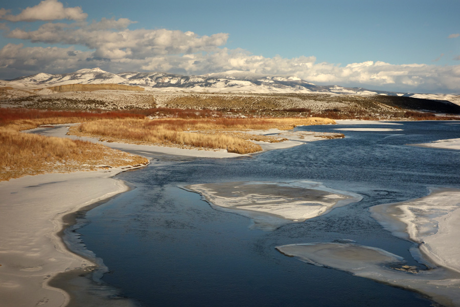 Pit Productions Lake Ice And Mountains Colorado