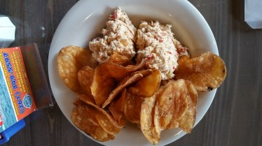 The Appetizer: Smoked Fish Dip w/ Potato Chips