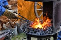 Blacksmith at Work - Blazing Hot
