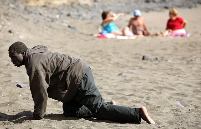 immigrant beach
