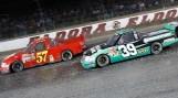 Benning (57) and race winner A. Dillon (39) - Eldora 2013