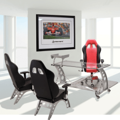 Racing Office Chairs Chair Mat Home Depot Inspired Furniture Pitsstop Race Desk