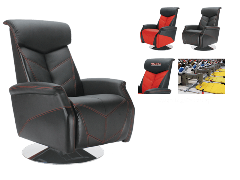 pop up recliner chairs medical stair chair racing inspired furniture pitsstop click on slides for popup images